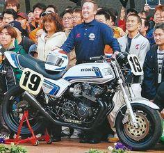Cb750 Cafe Racer, Suzuki Cafe Racer, Motorcycle Racers, Racing Motorcycles, Valentino Rossi, Freddie Spencer, Honda Cb1100, Bike Illustration, Honda Bikes