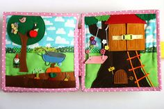 Reserved listing for Ana-Maria. Additional two pages for Dollhouse book - Kitchen garden and Treehouse.