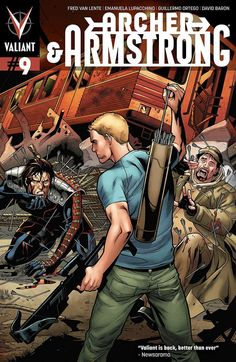 Archer and Armstrong #9 - Omega Point (Issue)