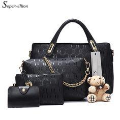 9a5103d856c3 Soperwillton женская сумка Топ-ручка сумки женские известный бренд 2017  женщин сумки через плечо сумки