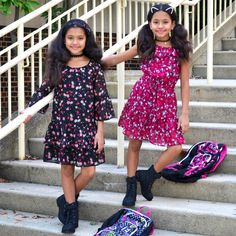 Christmas Dresses For Tweens Cute Clothing Stores, Kids Clothing Brands List, Clothing Sites, Teen Clothing, Christmas Dresses For Tweens, Outfits For Teens, Tween Fashion, School Fashion, Cute Mixed Girls