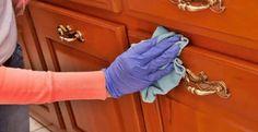 Jak wypolerować i odnowić drewniane fronty szafek?