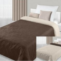 hneda prikryvka na postel Hotel Bed, Bedding Sets, Ottoman, Chair, Luxury, Furniture, Home Decor, Beautiful, Decoration Home