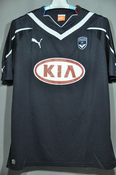 Bordeaux Puma Soccer jersey Football shirt 2010 Ligue 1 – Nice Day Sports