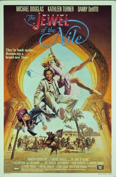The Jewel of the Nile. Kathleen Turner and Michael Douglas back again for more craziness.....