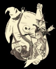 Mygiftoftoday has the latest collection of Nightmare Before Christmas apparels, accessories including Jack Skellington Costumes & Halloween costumes . Tim Burton Kunst, Tim Burton Art, Tim Burton Style, Tim Burton Films, Jack Skellington, Jack Y Sally, Nightmare Before Christmas Tattoo, Tim Burton Characters, Halloween