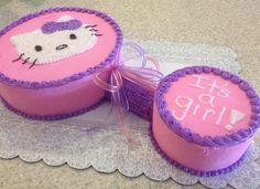 Hello Kitty baby shower cake 2014