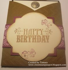 Happy Birthday -Stampin' Up!