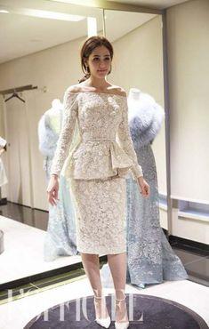 Dress Wedding Blue Elie Saab For 2019 Short Dresses, Prom Dresses, Formal Dresses, Wedding Dresses, Elegant Dresses, Beautiful Dresses, I Dress, Lace Dress, Sophisticated Dress