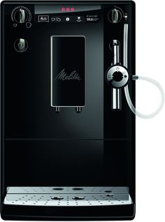 Melitta Machine à Café Automatique, Auto Cappuccinatore, Caffeo Solo    Perfect Milk, Noir Noir, E957-204 f6cf82238458