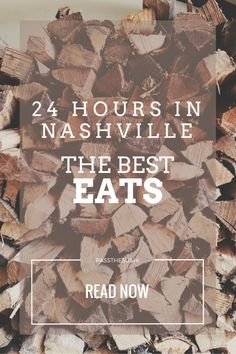 A foodie guide to Nashville in 24 hours | Must try restaurants while in Music City #travel