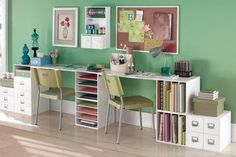 Toques e Retoques: Uma sala de artesanato dos sonhos!!!