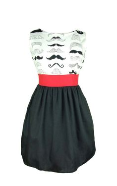 Consider wearing this to our Mustachio Bashio!