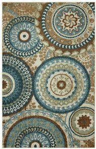 Mohawk dining rug
