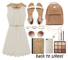 """Back to School"" by princess13inred ❤ liked on Polyvore featuring LULUS, Sonix, Morphe, Yves Saint Laurent and Dolce&Gabbana"