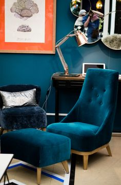 Graham and Green Donna Chair at Decorex