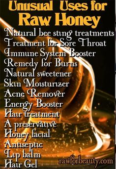 For all of these benefits it must be pure raw honey. #sandiegohoney #rawhoney