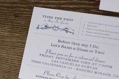 Cute and funny wedding invitation at ACE Hotel Palm Springs photography by Cakes and Kisses