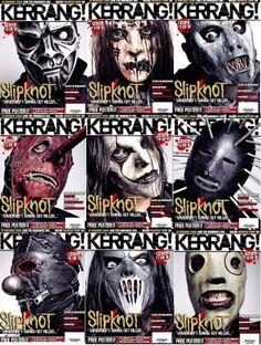 26 - Slipknot Kerrang Magazine Cover Photos