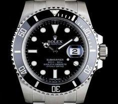Rolex Unworn Submariner Date Black Dial Ceramic Bezel Stainless Steel B&P Rolex Submariner No Date, Rolex Datejust, Vintage Rolex, Vintage Watches, Rolex Watches, Watches For Men, Used Rolex, Sea Dweller, Rolex Gmt Master