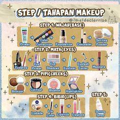 Eyebrow Makeup, Skin Makeup, Make Makeup, Makeup Tips, Korea Makeup Tutorial, Beauty Skin, Beauty Makeup, Makeup Starter Kit, Make Up