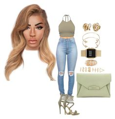 Untitled #1957 by mrkr-lawson on Polyvore featuring polyvore, fashion, style, NLY Trend, Lamoda, Givenchy, ASOS, Blue Nile, Forever 21 and clothing
