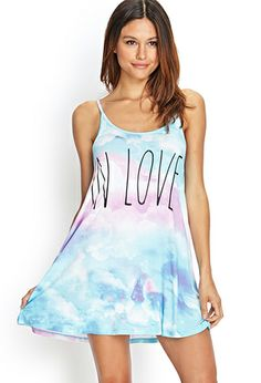 In Love Trapeze Nightdress | FOREVER21 - 2000107677