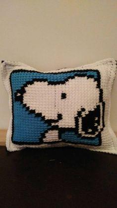 Cushion Snoopy / Snoopy / cushion / Peanuts by ZoneCreationsMAD