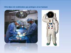 Otros tipos de vestimentas que protegen al ser humano