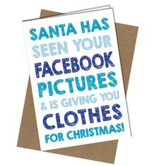 #401 ALDI VALUE Christmas Card Adult Funny Joke Rude Cheeky