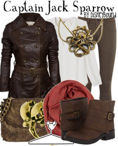 Pirates of the Caribbean fashion. I want the necklace more then anything.