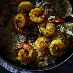 Shrimp Biryani (Indian Shrimp and Rice) Recipe on Food52 recipe on Food52