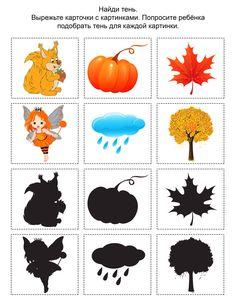 Preschool and Homeschool Preschool Learning Activities, Autumn Activities, Preschool Worksheets, Preschool Activities, Kids Learning, Printable Worksheets, Fall Crafts, Crafts For Kids, File Folder Activities