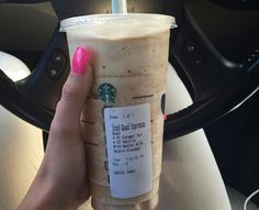 Blendicano Starbucks Secret Menu Drinks, Starbucks Recipes, Coffee Recipes, Starbucks Coffee, Starbucks Flavors, Starbucks Hacks, Yummy Drinks, Healthy Drinks, Healthy Smoothies