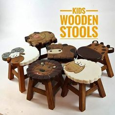Toys for babies & toddlers - Nomadic Style Girl Acrylic Bar Stools, Painted Bar Stools, Wood Bar Stools, Wood Stool, Counter Stools, Kitchen Step Stool, Stools For Kitchen Island, Island Bar, Timber Furniture