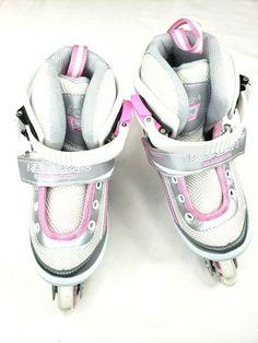 51ce0685e6c Kuxuan Inline Skates Adjustable for Kids Girls Skates With All Wheels Light  S #Kuxuan