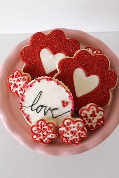 Galletas del Corazón Temáticos párr El Día de San Valentín | El Crafting Foodie