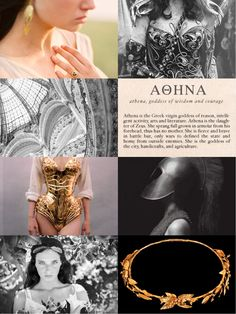 """Mythology Meme [5/12]Athena [Ἀθηνᾶ] is the goddess of wisdom, courage, civilization, law and justice, mathematics, strength, war strategy and the arts and she is the daughter of Zeus. """"According to myth, Athena competed with Poseidon for becoming the..."""