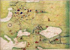 Battista Agnese, un cartógrafo adelantado a su tiempo.