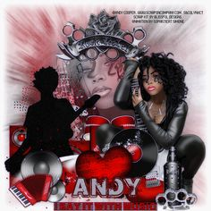 """I am using the amazing Artwork of """"©Andy Cooper"""" I am using a Matching kit called """"Guitar Red"""" by Scrap Kit Designer """"Blissful Designs"""" You can purchase this at """"Scraps N Company""""   Tutorial can be found at ...  http://lynxtuts.blogspot.com/2015/09/rock-hard.html"""
