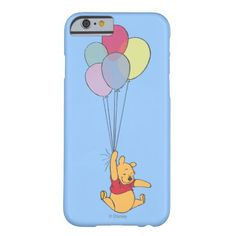 Winnie the Pooh and Balloons iPhone 6 Case at #zazzle, http://www.zazzle.com/winnie_the_pooh_and_balloons_iphone_6_case-256837104560175301?rf=238090244331062886