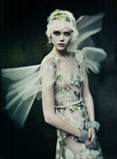 Frida Gustavsson by Paolo Roversi. Vogue Italia. by adrienne
