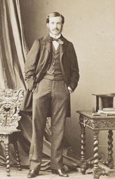 Category:Photographs by André Adolphe Eugène Disdéri Joseph, Ernest, Portrait, Victorian Fashion, Photographs, Style, Swag, Stylus, Men Portrait
