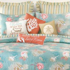 Textiles by the Sale on Zulily. Bedding, Pillows and Quilts: http://www.completely-coastal.com/p/coastal-sale-island.html Sale ends 10/1/15