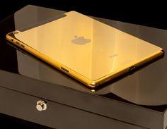 Gold iPad mini Retina Wifi and 4G - Goldgenie l #luxury