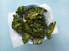 Crispy Roasted Kale Recipe by Ina Garten. July 13, 2014. Listen to Ina. She knows of what she speaks. Dry the kale well. Lots of space in between the kale on the pan so it crisps (and doesn't steam). Foolproof. Made it with dinosaur kale January 1, 2015 and I like the curly kale better. // vegetarian | snacks