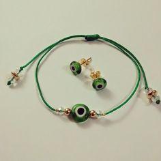 Sublime Pulsión - Taller Creativo Seed Bead Jewelry, Diy Jewelry, Jewelery, Jewelry Accessories, Handmade Jewelry, Fashion Jewelry, Jewelry Making, Evil Eye Jewelry, Evil Eye Bracelet