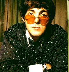 Paul McCartney + round glasses by ~Sporklie on deviantART