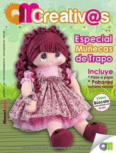 Minauri & Quili - Revistas - Cursos - Tienda: Nueva revista QMCreativ@s Nº 5 Especial de Muñecas de Trapo
