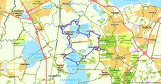 's-Graveland (Noord-Holland, Nederland) | Fietsroute 142256 | 29,10 km | Vechtplassenroute | Fietsen in 's-Graveland | https://www.route.nl/fietsroute/142256/vechtplassenroute. Elke dag nieuwe routes!